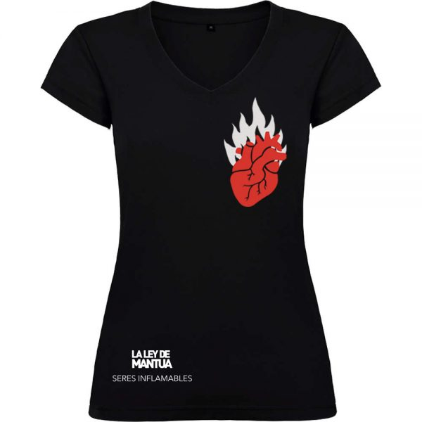 Camiseta Seres Inflamables Mujer