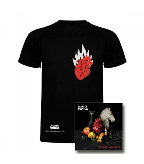 Pack CD + Camiseta Hombre
